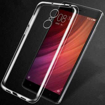 Slim TPU Back Cover Case For Xiaomi Redmi Note 4 (Clear) - intl Price Philippines