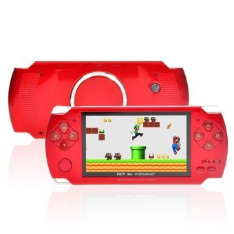 8GB 4.3-Inch TFT Screen Mp4 MP5 Player Game Player Supports Psp Game Camera Video E-book Music (Red) Price Philippines