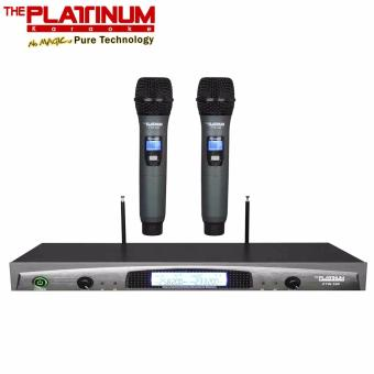 Harga The Platinum PTW-300S Wireless Dual Professional Microphone (Black)