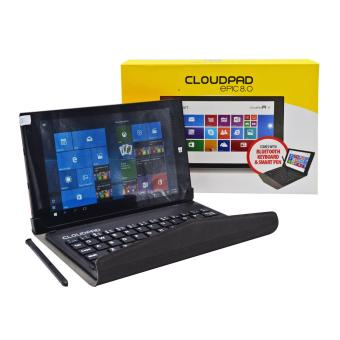 Harga Cloudpad Epic 8.0 16GB with FREE Smart Pen and Bluetooth Keyboard (Red)