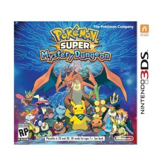 Harga Pokemon Super Mystery Dungeon Video Game for Nintendo 3ds
