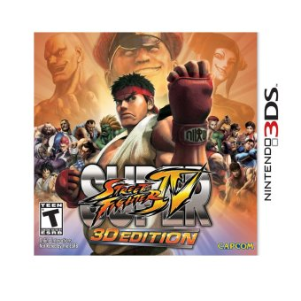Harga Nintendo 3DS Street Fighter IV 3D Edition