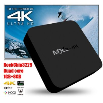 Harga 2017 Anroid TV Box MXQ 4K Android 5.1 Smart TV Box Quad Core Set Top Boxes XBMC Kodi Pre-installed WiFi 4K 1080P 64bit Internet TV Box - intl