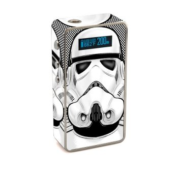 Harga Oddstickers Trooper Pattern 1 Vape Skin Cover for Snow Wolf 200W Box Mod