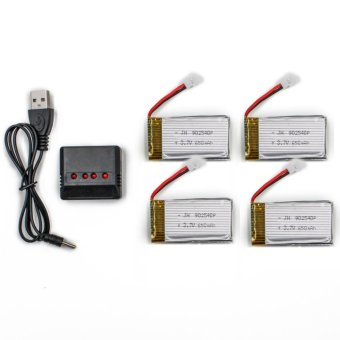 Syma 650mAh Li-Po Battery with Charger for Syma X5C X5SC and X5SW Drone Price Philippines