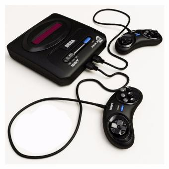 Harga sega mega drive II 16bit tv video game system with 368 built-in Games black