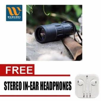 Bushnell Monocular Muti-Coated Optics with free Stereo In-Ear Headphone (White) Price Philippines
