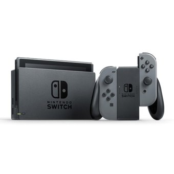 Harga Nintendo Switch with Gray Joy‑Con (Unit)
