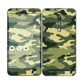 Harga Oddstickers Phone Skin Camouflage Green 1 for Asus Zenfone 2