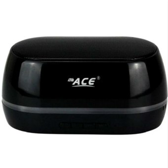 Ace BT06 Portable Bluetooth Speaker with Mic (Black) Price Philippines