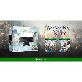 Xbox One 500GB Console - Assassin's Creed Unity Bundle 2 games Price Philippines
