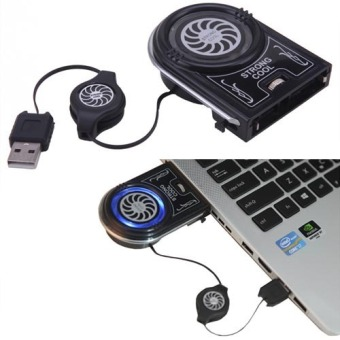 Mini Vacuum Strong Cool Air Extract USB Notebook Laptop Cooling Cooler - Intl Price Philippines