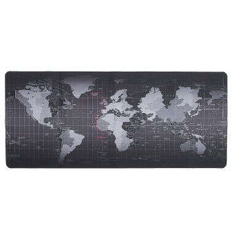 World Map Speed Game Mouse Pad Mat Laptop Gaming Mousepad - intl Price Philippines