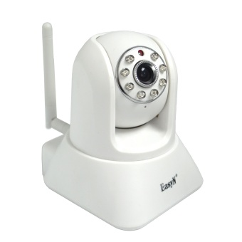 Harga EasyN H3-187V P2P Wireless IP Camera with 2-way Audio (White)