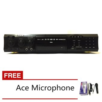 Ace MIDI-9908 Karaoke DVD Player with Games and Radio (Black) with FREE Ace-504 Microphone Price Philippines