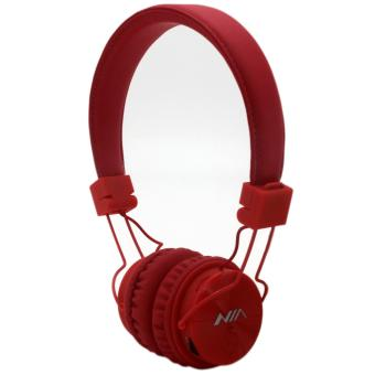 NIA-X3 108dB 4 in 1 Collapsible Wireless Bluetooth Over the Ear Headphone (Red) Price Philippines