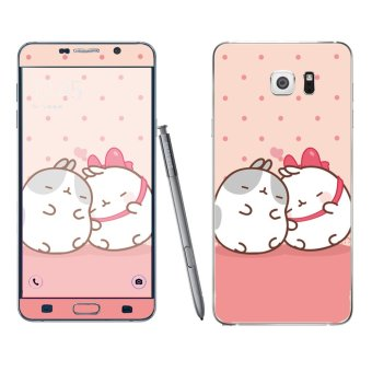 Harga Oddstickers Cute Hamster Pattern Phone Skin Cover for Samsung Galaxy Note 5