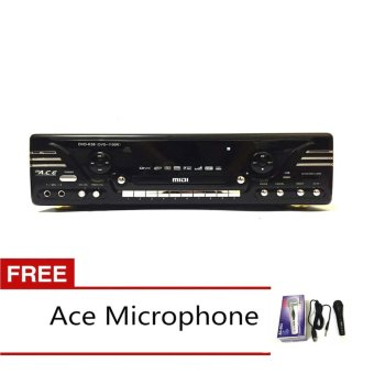 Ace MIDI-1100 Karaoke DVD Player with FREE Ace-504 Microphone Price Philippines