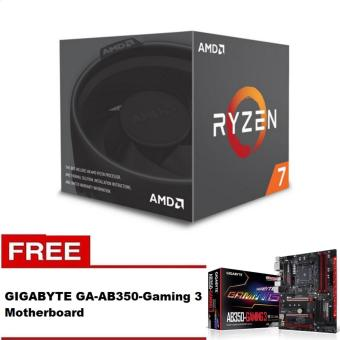 AMD Ryzen 7 1700 8 Core AM4 Processor with FREE Gigabyte GA-AB350-Gaming 3 Motherboard Price Philippines