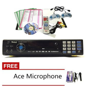 Ace MIDI-9910 All-In-One Karaoke/DVD Player with Ace-504 microphone Price Philippines