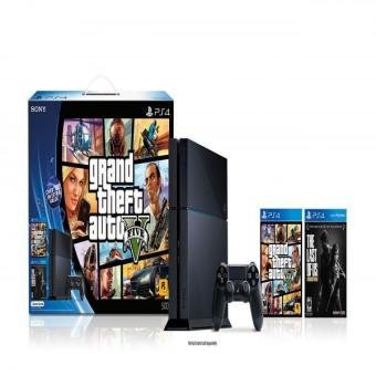 Playstation 4 Black Friday Bundle - Grand Theft Auto V And The Last Of Us Remastered Price Philippines