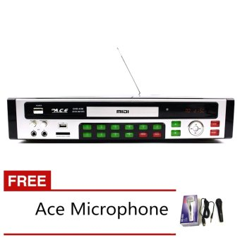 Ace MIDI-9914 All In One Karaoke/DVD Player have Games and Radio with Free Ace-504 Microphone Price Philippines