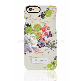 Ted Baker Green Flower design plastic Hard case for Apple iphone6/6s(green flower) Price Philippines