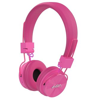 Nia X3 108dB 4 in 1 Bluetooth Wireless Over Ear Headphone (Pink) Price Philippines