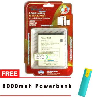 MSM HK Battery for Cherry Mobile CM-12P FLARE J1 MINI WITH FREE 8,000 MAH POWERBANK Price Philippines