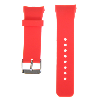 Harga VAKIND Silicone Watch Band Strap for Samsung Galaxy Gear S2 SM-R720 (RoseRed)