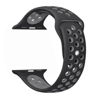 38mm Soft Silicone Replacement Sport Strap iWatch Band for Apple Watch 38mm Edition & Sport & Apple watch NIKE Series 1 and Series 2 - intl Price Philippines