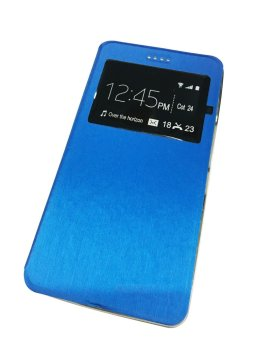 Huawei Smart View Flip PU Leather Case for Y6 (Blue) Price Philippines