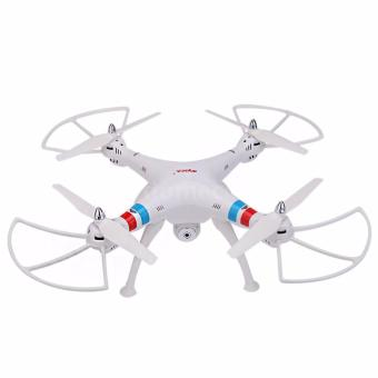 Syma X8C Venture New Package 4 Channel 2.4G RC Quadcopter with 2.0 HD Camera 6 Axis 3D Flip Fly UFO (White) Price Philippines