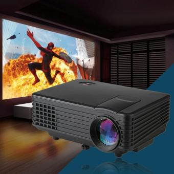 Harga RD-805 Mini LED Home Portable Projector (Black)