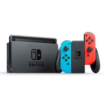 Nintendo Switch with Neon Blue and Neon Red Joy‑Con (Unit) Price Philippines