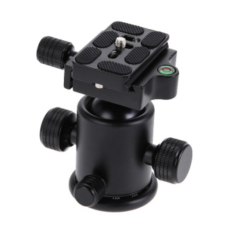Harga Tefoto T3 Camera Tripod Ball Head Ballhead+ Quick Release Plate1/4? Screw