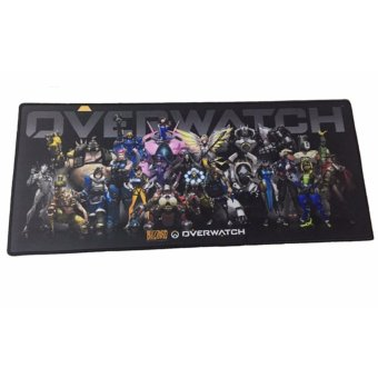 Blizzard A9-PC012 OverWatch Long Computer Gaming Mouse Keyboard Mouse Pad Large (Black) Price Philippines