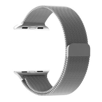 Apple Watch Band - 42mm Milanese Loop Stainless Steel Bracelet Strap Magnetic Closure Clasp - Replacement Wrist Band for iWatch Series 1 Series 2 Sport & Edition - intl Price Philippines