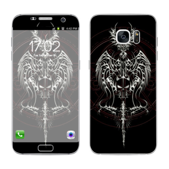 Harga Oddstickers Knight Phone Skin Cover for Samsung Galaxy S7 Edge