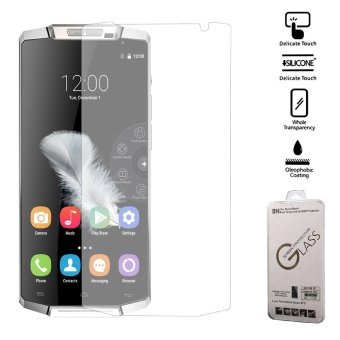 Harga For Oukitel K10000 Tempered Glass Screen Protector Protective Film (Arc Edge) - intl