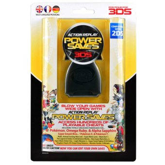 Datel Action Replay for Nintendo 3DS 2DS Power Saves Cheat Codes PAL Price Philippines