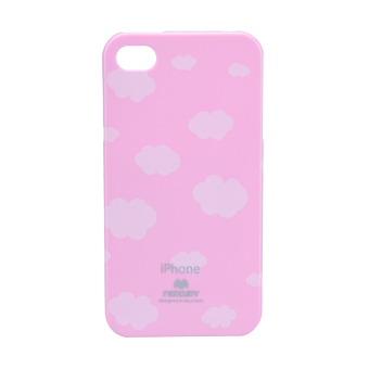 Mercury Printed Jelly Case iPhone 4/4S (Cloud/Pink) Price Philippines