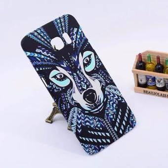 Harga LUXO animal iglow hard case for Samsung s7 edge(blue wolf)