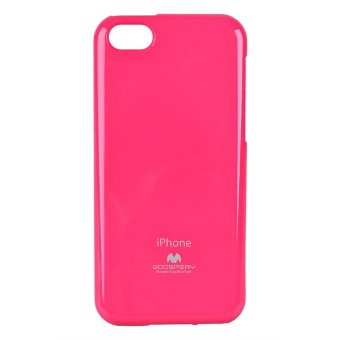 Goospery Color Pearl Jelly Case iPhone 5C (Hot Pink) Price Philippines