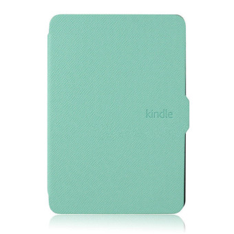 Harga GAKTAI Leather Smart Tablet PC Case for Amazon Kindle Paperwhite (Mint)