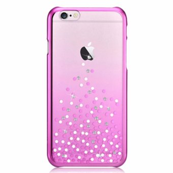 Bling Crystal Diamond Case Luxury Transparent Electroplate Back Case Cover For Apple iPhone 6/6S 4.7 inch Mobile Phone Bag - intl Price Philippines