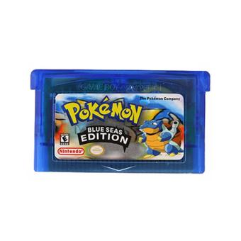 Game Card For Pokemon BLUE SEAS Version Game Boy GameBoy Advance GBA Game Gift Price Philippines