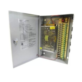 Harga 12V 30A Universal cctv Centralized Power Supply with box