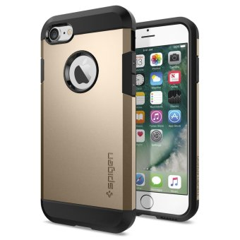 Harga Spigen Tough Armor TPU Case for iPhone 7 (Champagne Gold)