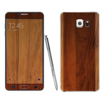 Harga Samsung Galaxy Note 5 Wood Skin by Oddstickers